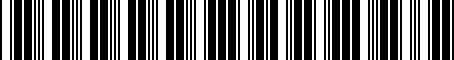 Barcode for 000071213C